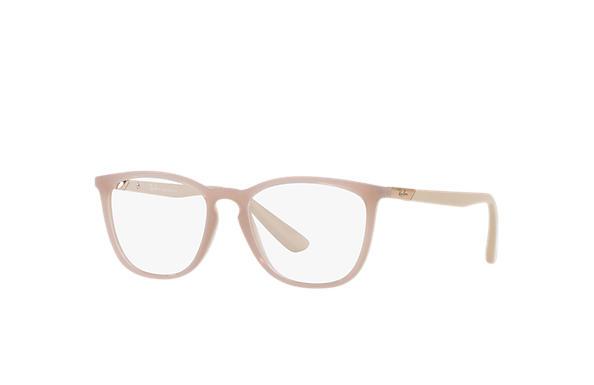a52585a3d Óculos de grau Ray-Ban RB7136L Marrom-claro - Nylon - 0RX7136L574352 ...