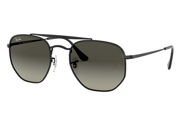 1f9d11316 Ray-Ban Marshal RB3648 Chumbo - Metal - Lentes Marrom - 0RB3648004 ...