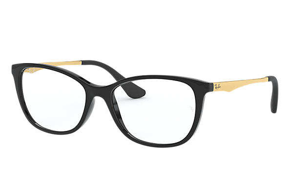 Ray-Ban 0RY1565L-RB1565L Preto; Ouro OPTICAL