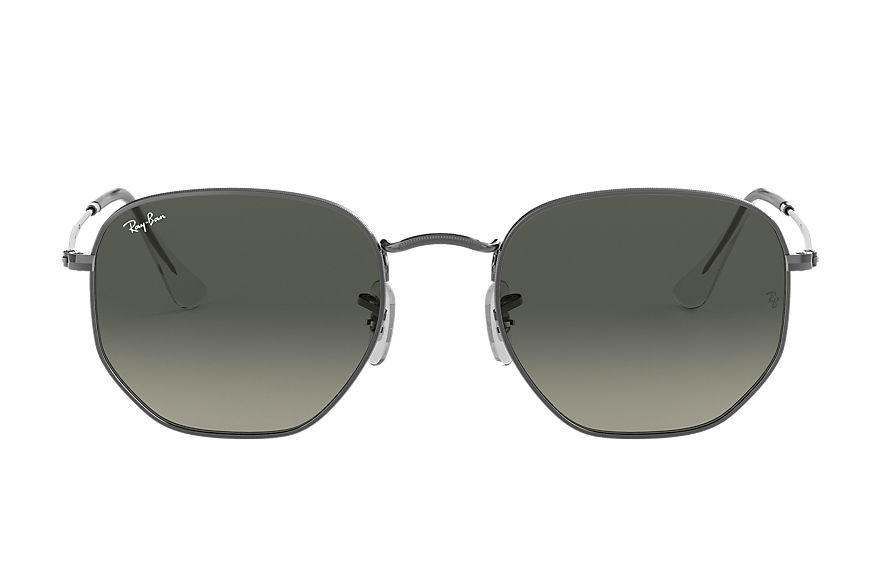Ray-Ban  oculos de sol RB3548NL MALE 008 hexagonal flat lenses chumbo 7895653185104