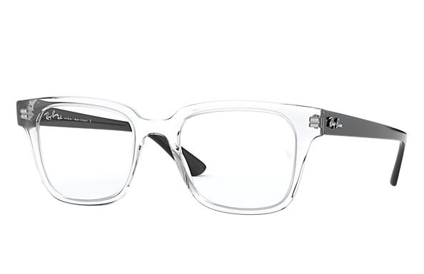 Ray-Ban 0RX4323VL-RB4323VL Transparente; Preto OPTICAL