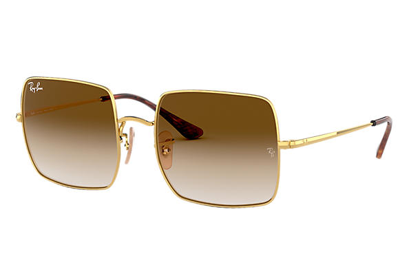 Ray-Ban 0RB1971L-SQUARE 1971 CLASSIC Ouro SUN