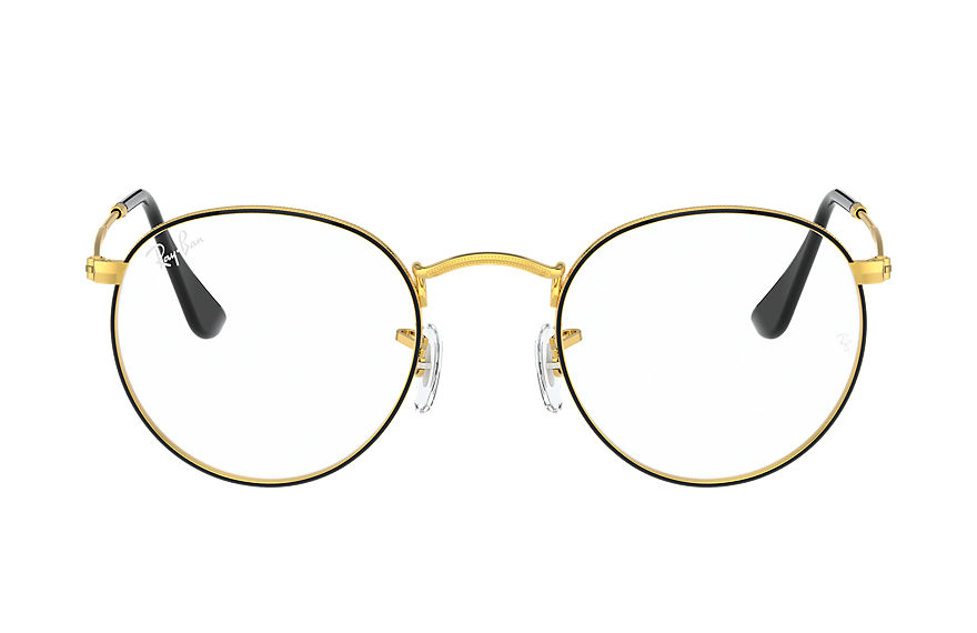 Ray-Ban Graduados ROUND METAL OPTICS Preto