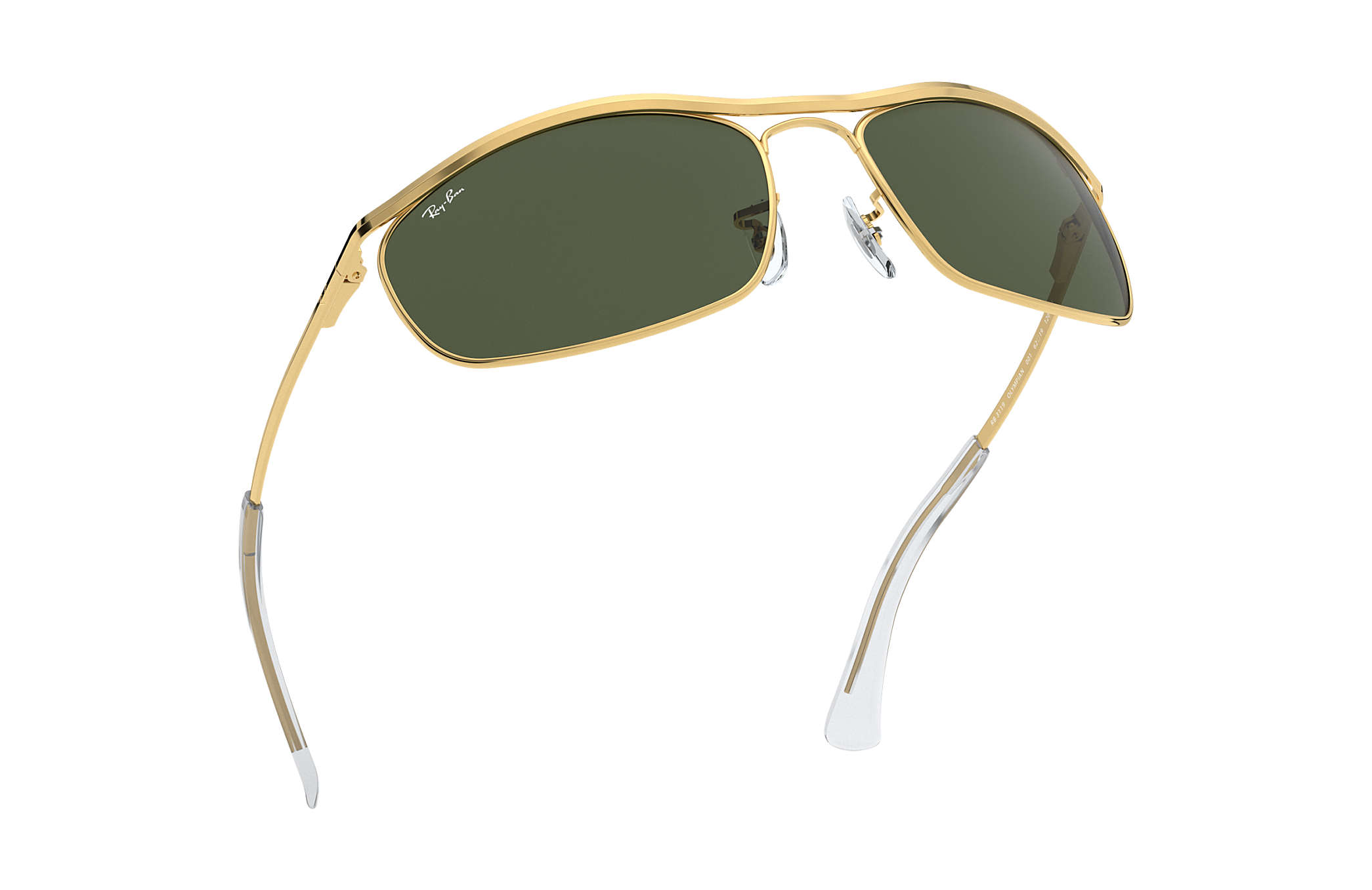 823c31e0ca Ray-Ban Olympian RB3119 Gold - Metal - Green Lenses - 0RB311900162 ...