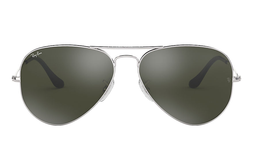 Ray-Ban  sunglasses RB3025 UNISEX 087 aviator mirror polished silver 805289005612