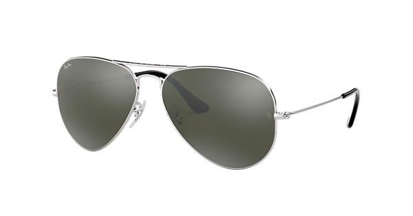 bbe57148ea Ray-Ban Aviator Mirror RB3025 Silver - Metal - Silver Lenses -  0RB3025W327758