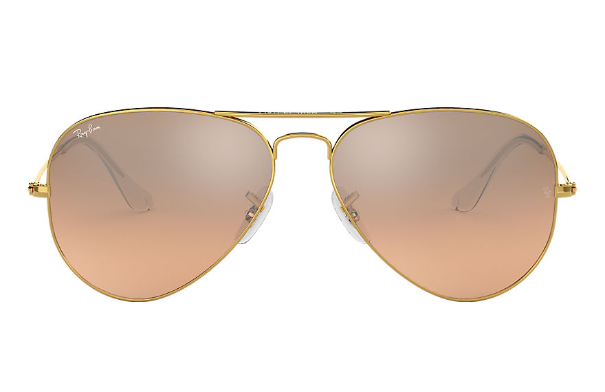 Ray-Ban  sunglasses RB3025 UNISEX 010 aviator gradient gold 805289007845