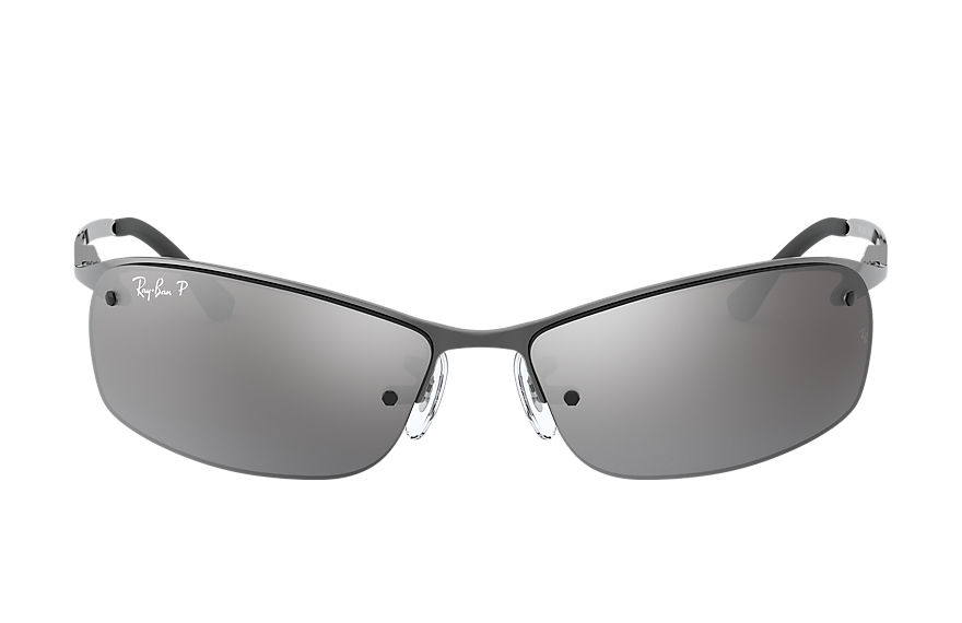 Ray-Ban RB3183 Gunmetal with Silver Mirror lens