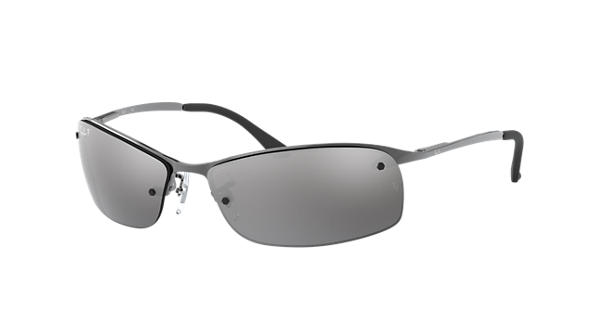 bce2ae87bcee7f Ray-Ban RB3183 Gunmetal - Metal - Silver Polarized Lenses - 0RB3183004 8263    Ray-Ban® USA