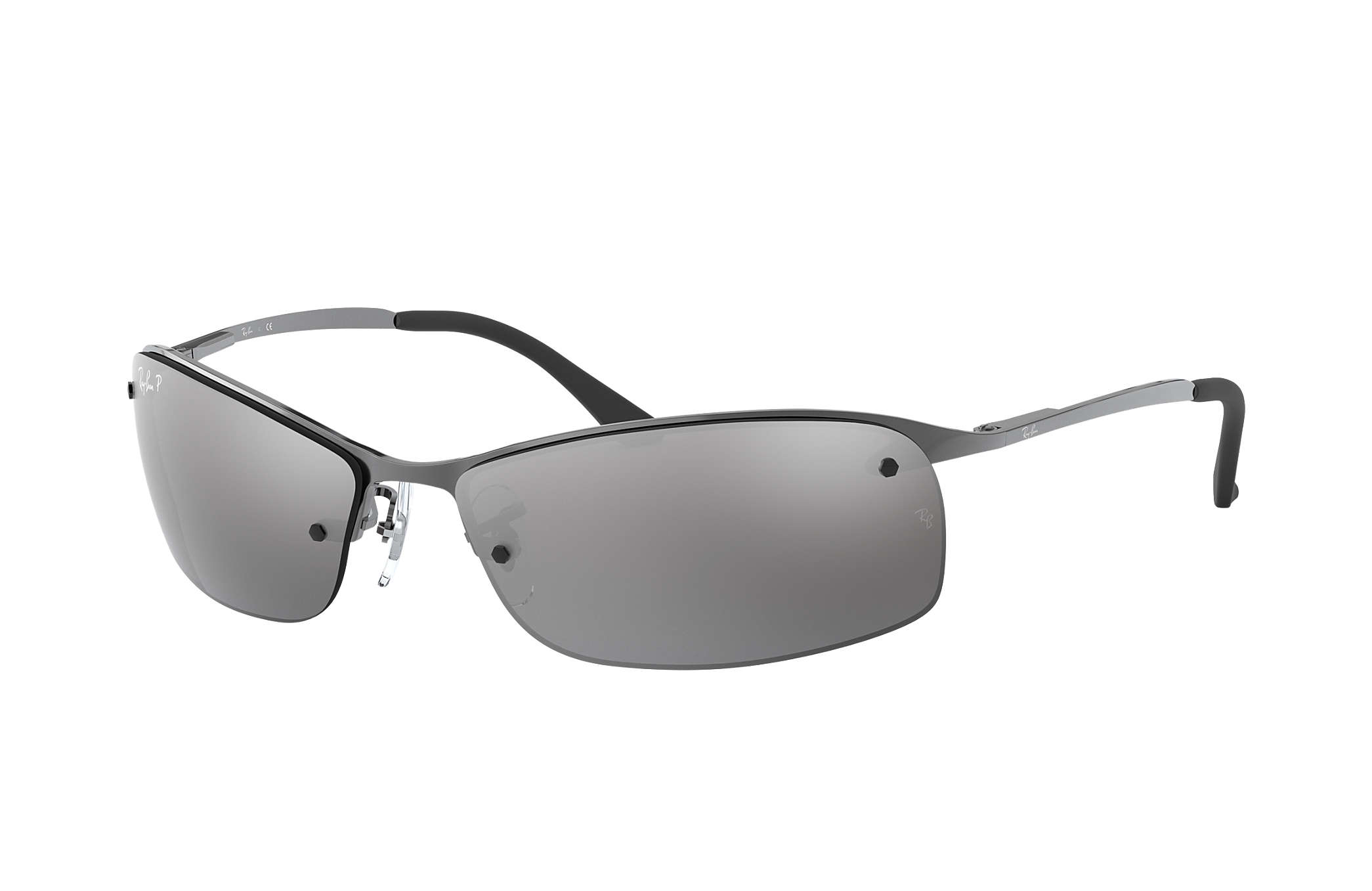 a7be57808b Ray-Ban RB3379 Gunmetal - Metal - Green Polarized Lenses ...