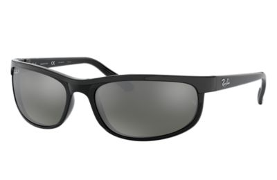 9bc0459efa Ray-Ban PREDATOR 2 RB2027 Black - Nylon - Grey Polarized Lenses -  0RB2027601 W162