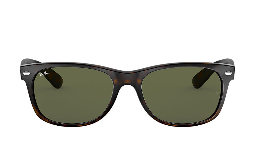 Ray-Ban  sunglasses RB2132 UNISEX 059 new wayfarer classic gloss tortoise 805289048534