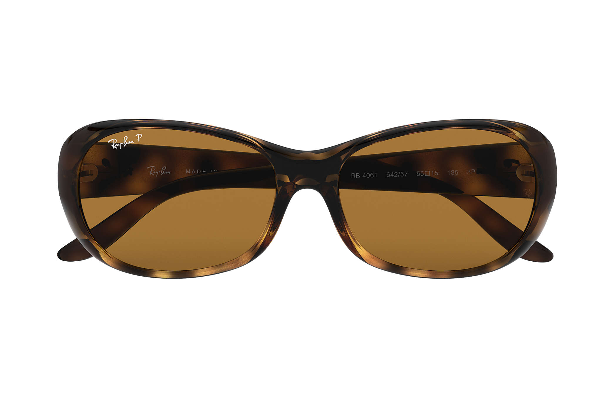 ece1e72b54 Ray-Ban RB4061 Tortoise - Nylon - Brown Polarized Lenses ...