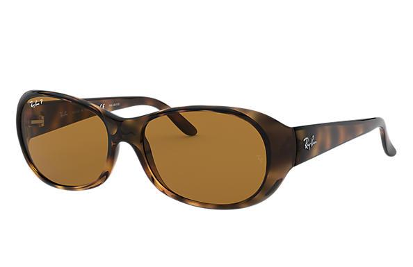 1627807c28 Ray-Ban RB4061 Tortoise - Nylon - Brown Polarized Lenses ...