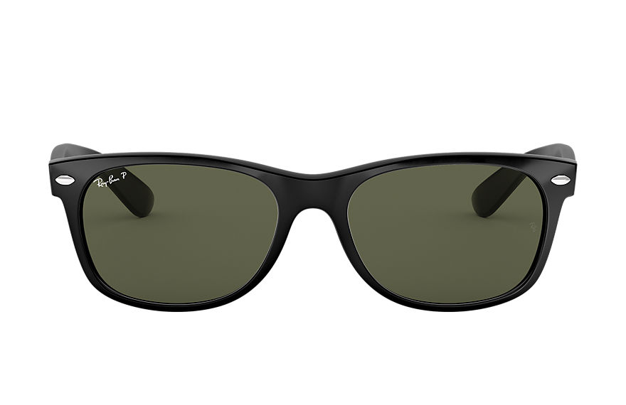 Ray-Ban  sunglasses RB2132 UNISEX 054 new wayfarer classic gloss black 805289083061