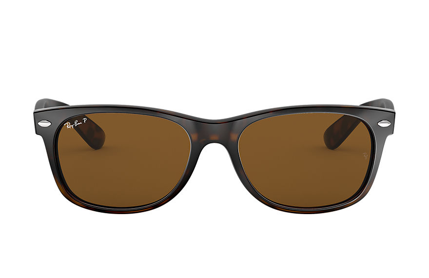 Ray-Ban  sunglasses RB2132 UNISEX 066 new wayfarer classic gloss tortoise 805289083092