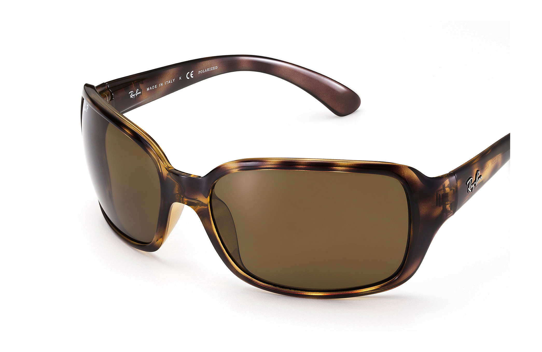 Ray-Ban RB4068 Tortoise - Nylon - Brown Polarized Lenses ... 9f4b38ad81c7