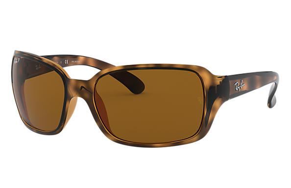 Ray-Ban Sunglasses RB4068 Tortoise with Brown Classic B-15 lens