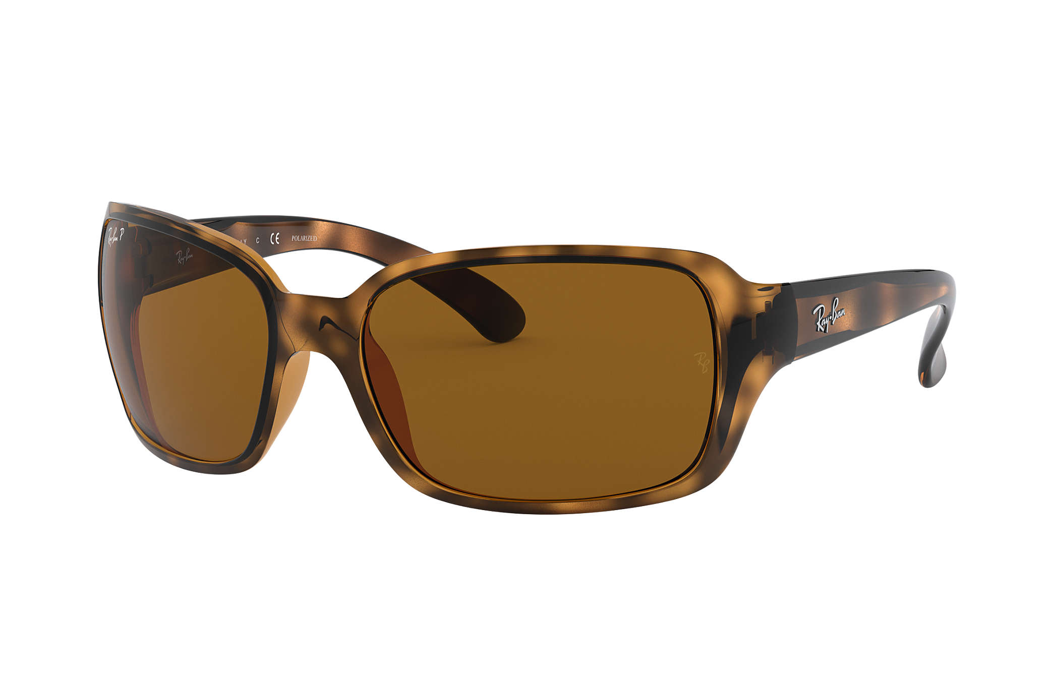 f8460045d3833 Ray-Ban RB4068 Tortoise - Nylon - Brown Polarized Lenses ...