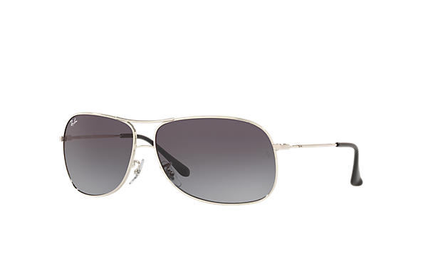 d348d2a10076 Ray-Ban RB3267 Silver - Metal - Grey Lenses - 0RB3267003/8G64 | Ray ...