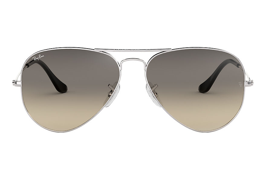 Ray-Ban  sunglasses RB3025 UNISEX 067 aviator gradient silver 805289101178