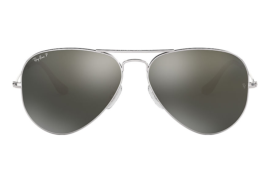 Ray-Ban  sunglasses RB3025 UNISEX 038 aviator classic polished silver 805289104940