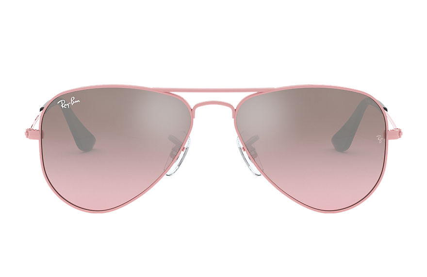 Ray-Ban  sunglasses RJ9506S CHILD 002 aviator junior pink 805289106708