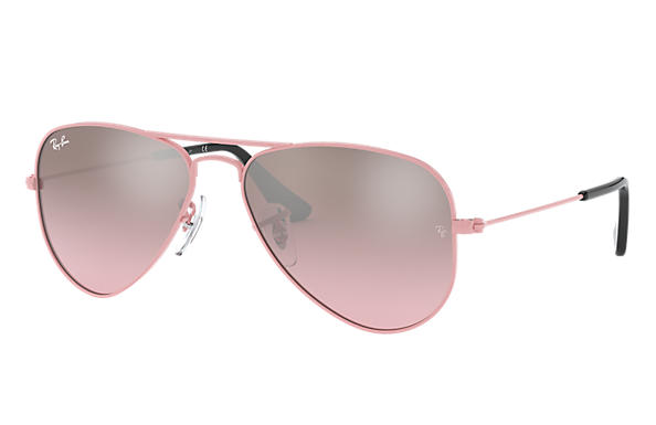Ray-Ban 0RJ9506S-AVIATOR JUNIOR Roze SUN