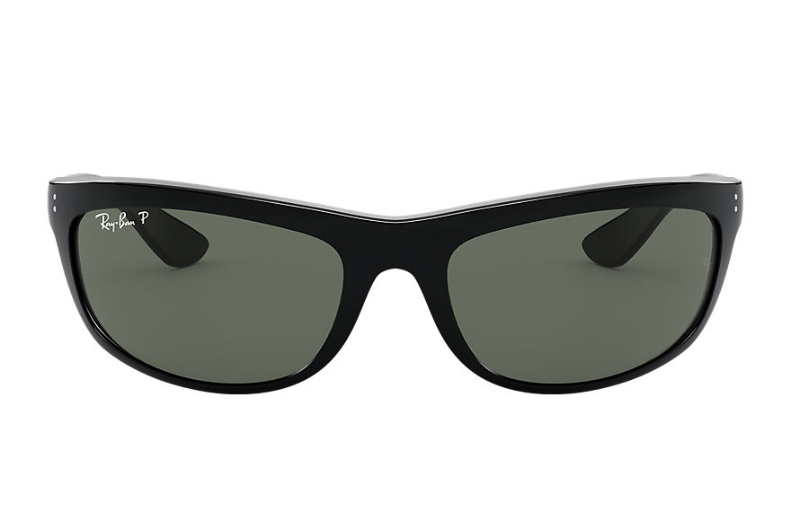 Ray-Ban BALORAMA Black with Green Classic G-15 lens