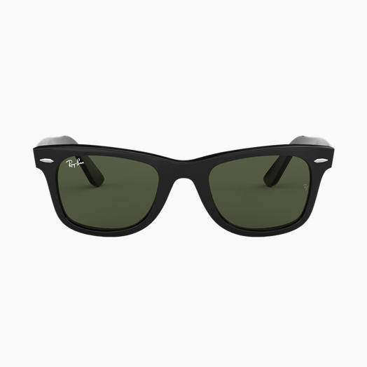 f808cf1426ae Ray-Ban ORIGINAL WAYFARER CLASSIC Black with Green Classic G-15 lens