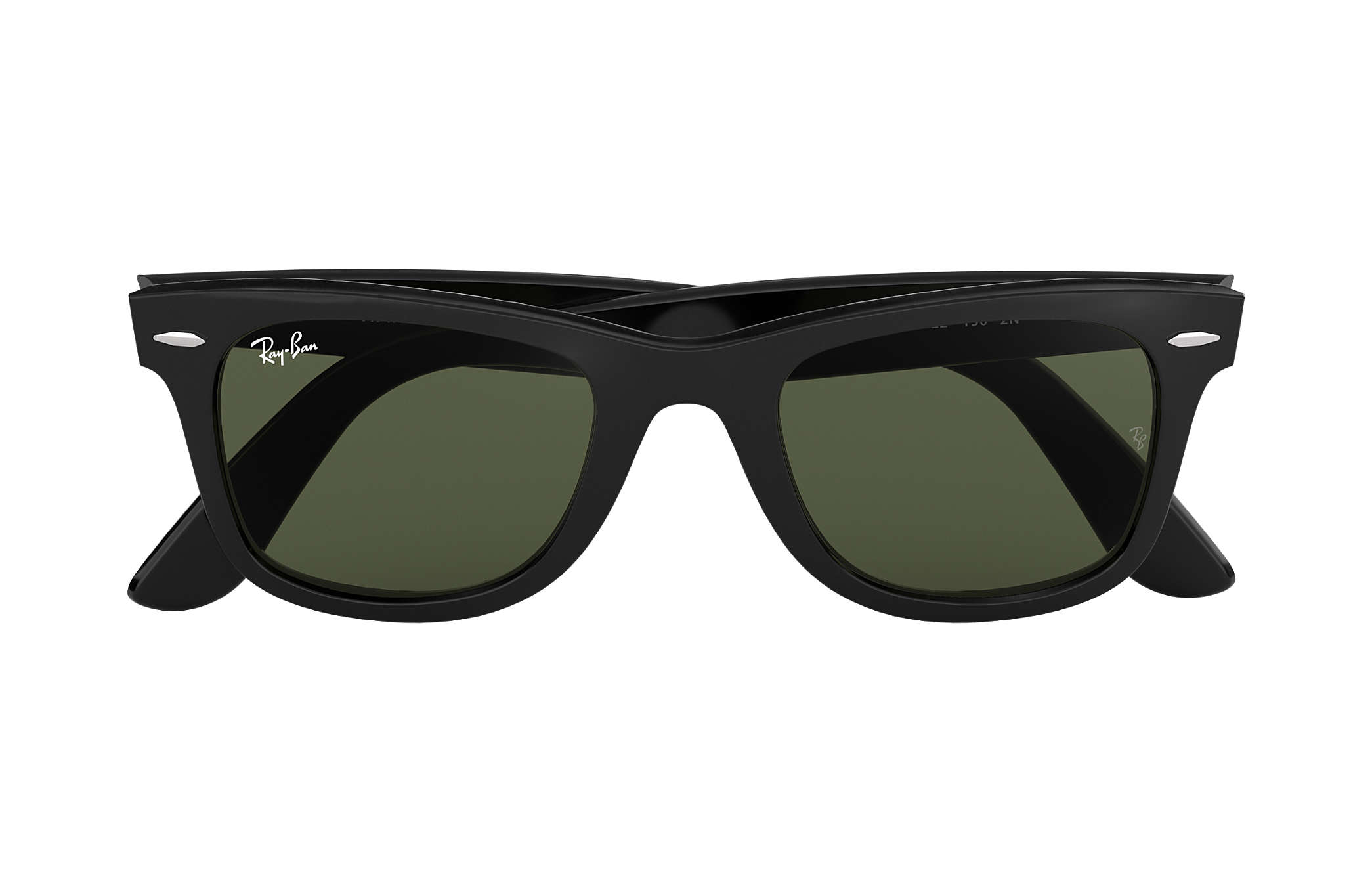 9e62424aa49 Ray-Ban Original Wayfarer Classic RB2140 Black - Acetate - Green ...