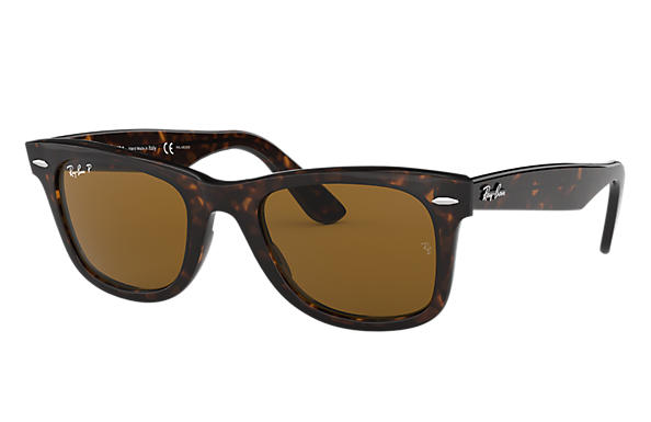 f27e3305d Ray-Ban Original Wayfarer Classic RB2140 Black - Acetate - Green ...