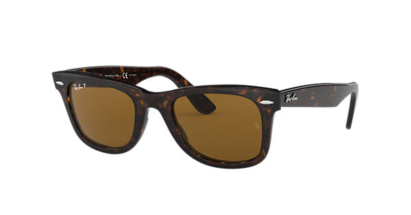 d8c7aeda99 Ray-Ban Original Wayfarer Classic RB2140 Tortoise - Acetate - Brown  Polarized Lenses - 0RB2140902 5750