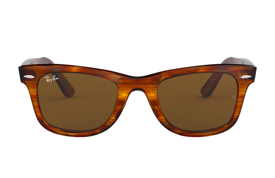 Ray-Ban ORIGINAL WAYFARER CLASSIC Tortoise with Brown Classic B-15 lens