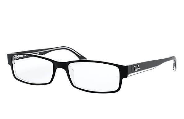Ray-Ban 0RX5114-RB5114 Schwarz,Transparent OPTICAL