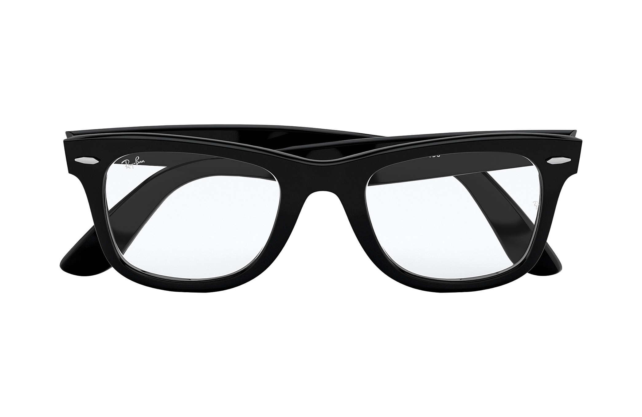Ray-Ban prescription glasses Original Wayfarer Optics RB5121 Black ... 1d33c34793166