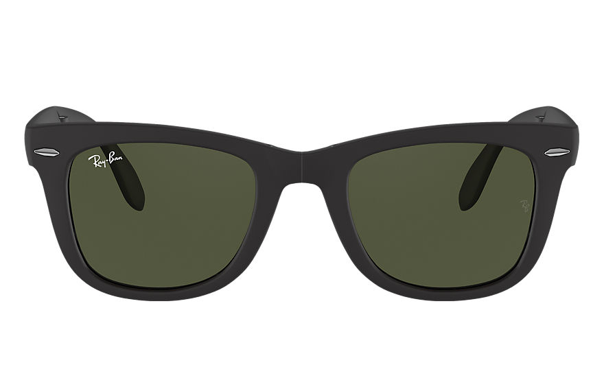 Ray-Ban  sunglasses RB4105 UNISEX 010 wayfarer folding classic matte black 805289154600