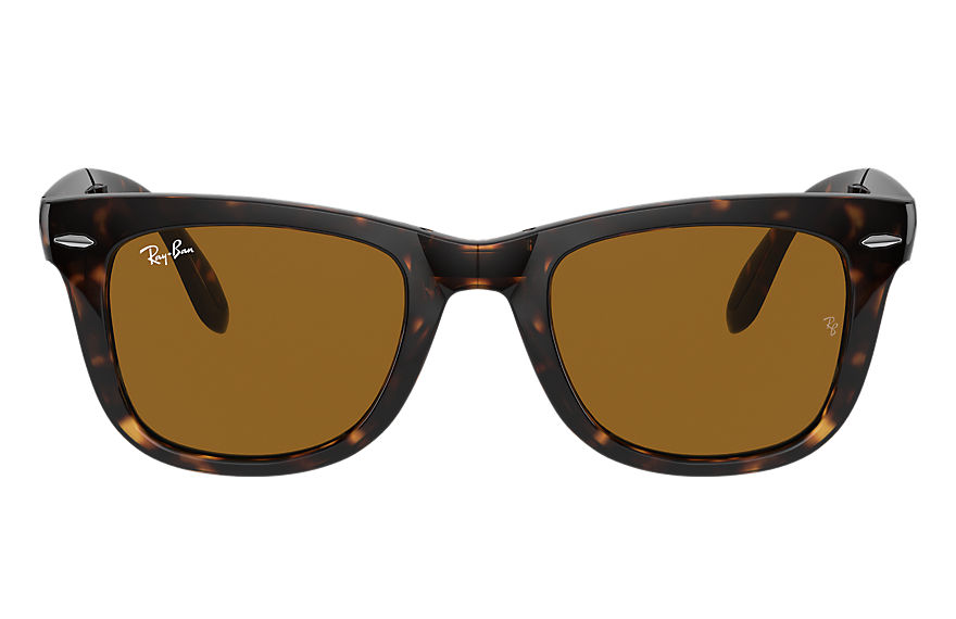 Ray-Ban  sunglasses RB4105 UNISEX 019 wayfarer folding classic polished tortoise 805289154624