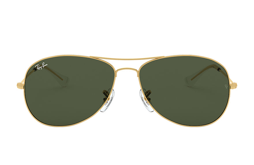 Ray-Ban COCKPIT Gold with Green Classic G-15 lens