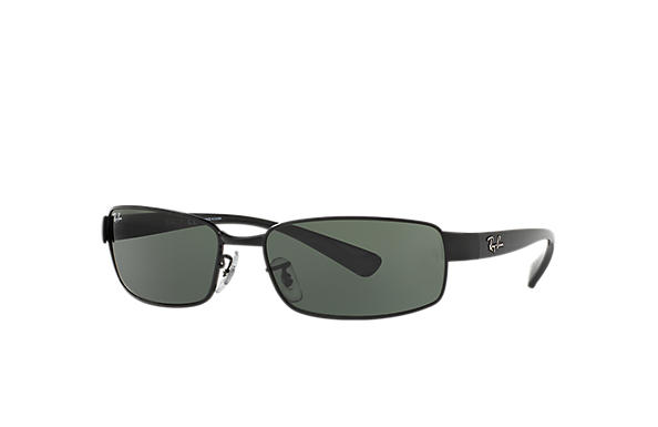 f606fc28d586c7 Ray-Ban RB3364 Gunmetal - Metal - Green Lenses - 0RB336400459