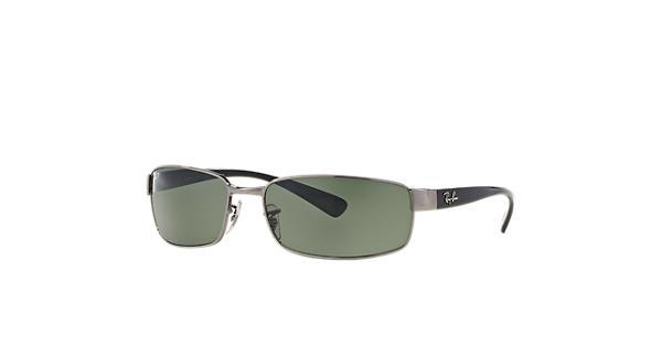 ae817b20c66 Ray-Ban RB3364 Gunmetal - Metal - Green Lenses - 0RB336400459