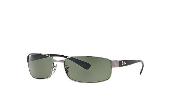 dac3b386905 Ray-Ban RB3364 Gunmetal - Metal - Green Lenses - 0RB336400462