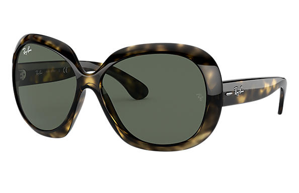 5d78be29e08 Ray-Ban Jackie Ohh Ii RB4098 Tortoise - Nylon - Green Lenses ...