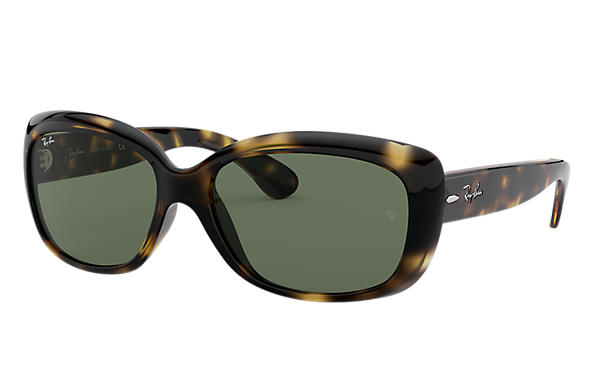 Ray-Ban Sunglasses JACKIE OHH Tortoise with Green Classic G-15 lens