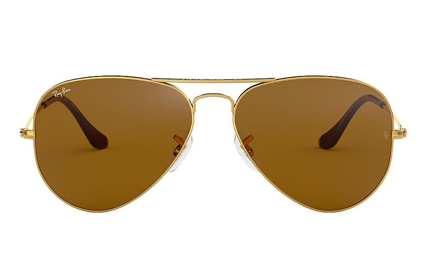 Ray-Ban  sunglasses RB3025 UNISEX 007 aviator classic polished gold 805289178323