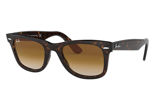 0cf7633472 Ray-Ban ORIGINAL WAYFARER CLASSIC RB2140 Tortoise - Acetate - Green Lenses  - 0RB214090250