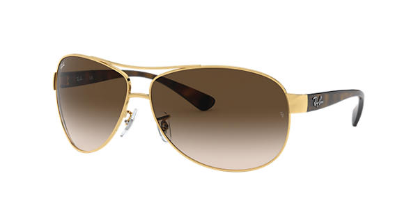 4b9d136aed Ray-Ban RB3386 Gold - Metal - Brown Lenses - 0RB3386001 1363