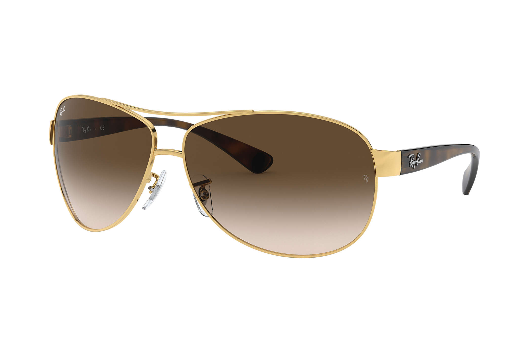 Ray-Ban RB3386 Gold - Metal - Brown Lenses - 0RB3386001 1363  12f55fd56a79f