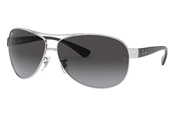 Ray-Ban 0RB3386-RB3386 Silver; Black SUN