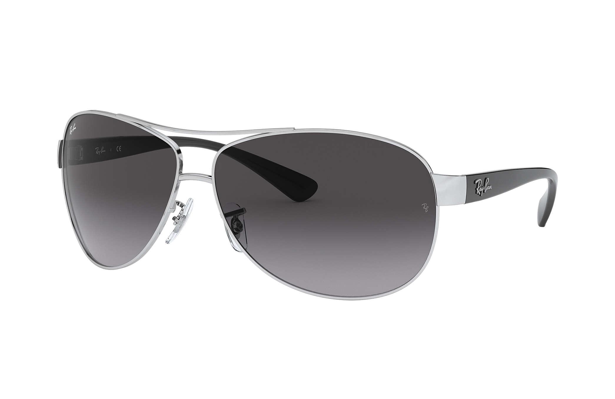 42420fcf76 Ray-Ban RB3386 Silver - Metal - Grey Lenses - 0RB3386003/8G63 | Ray ...